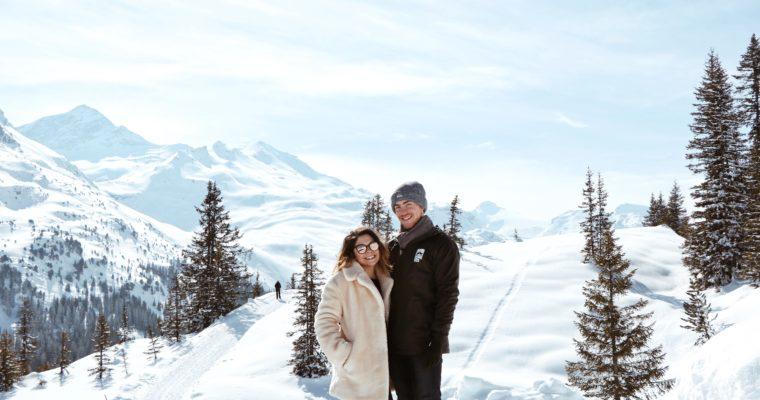 Une semaine en Suisse (Laax)