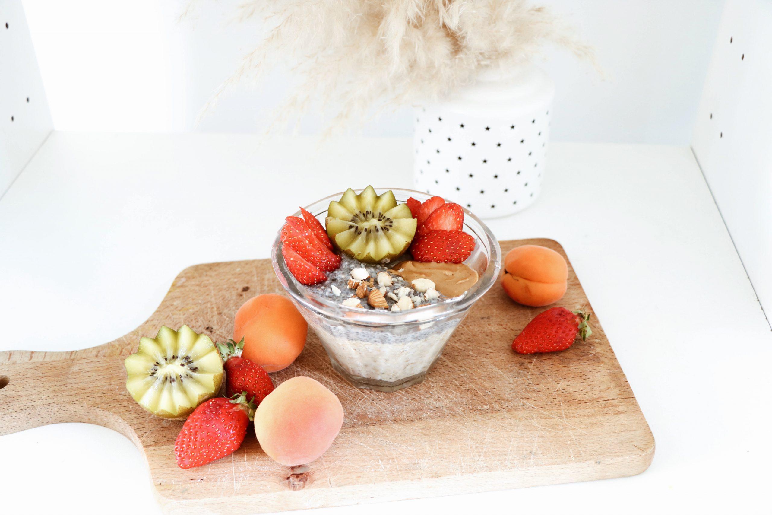 Petit-dej #1 : Porridge d'avoine frais