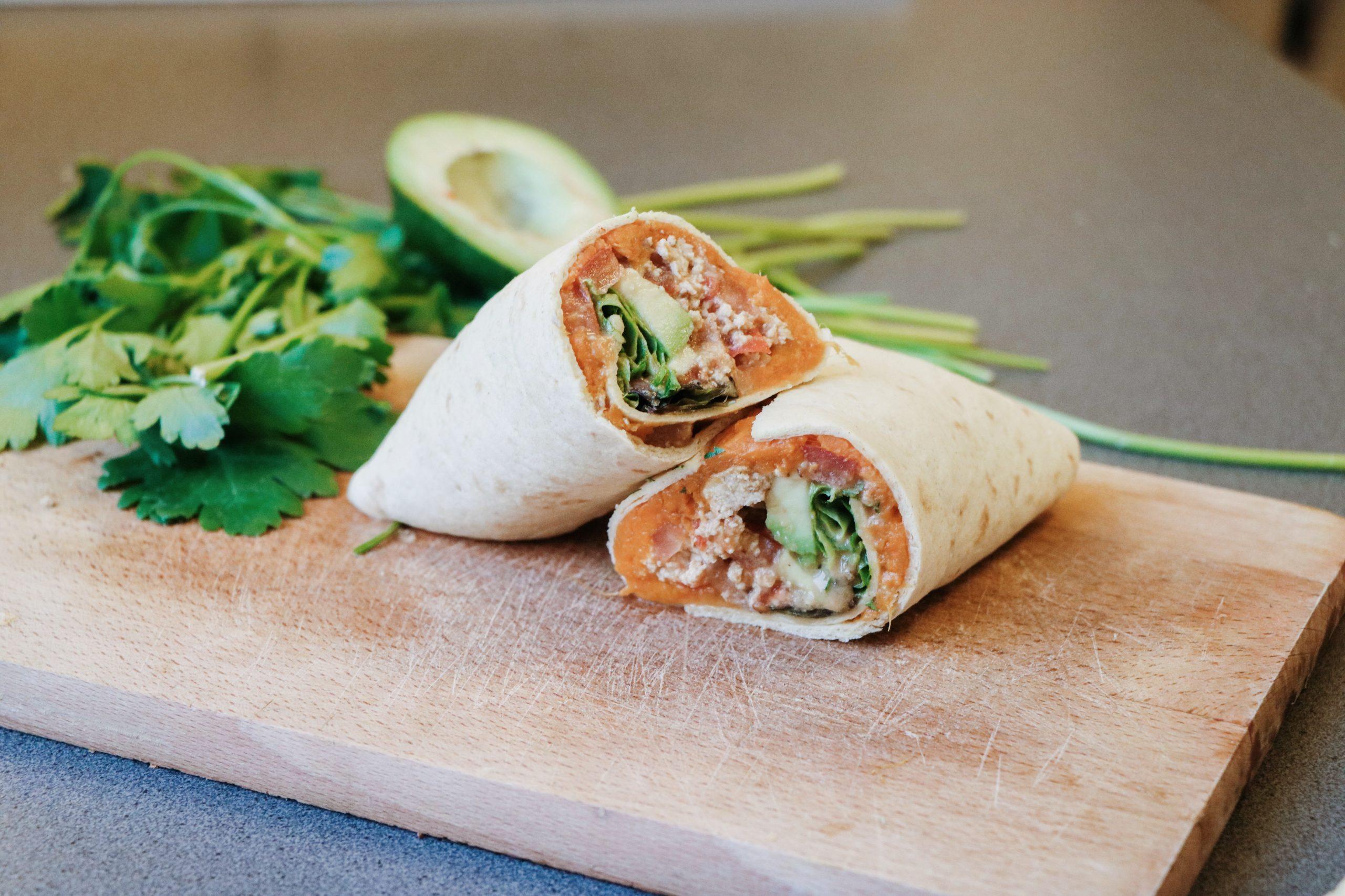 Wraps végétariens Thaï