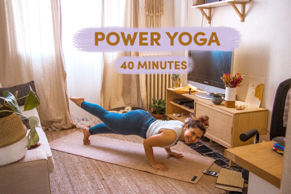 Power Yoga (40mn)
